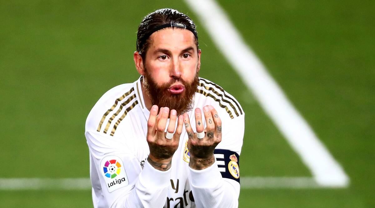 """Sergio Ramos แข้งกองหลัง """"รีลมาดริด"""" ที่พลาดนัดเอล กลาสซิโก้"""