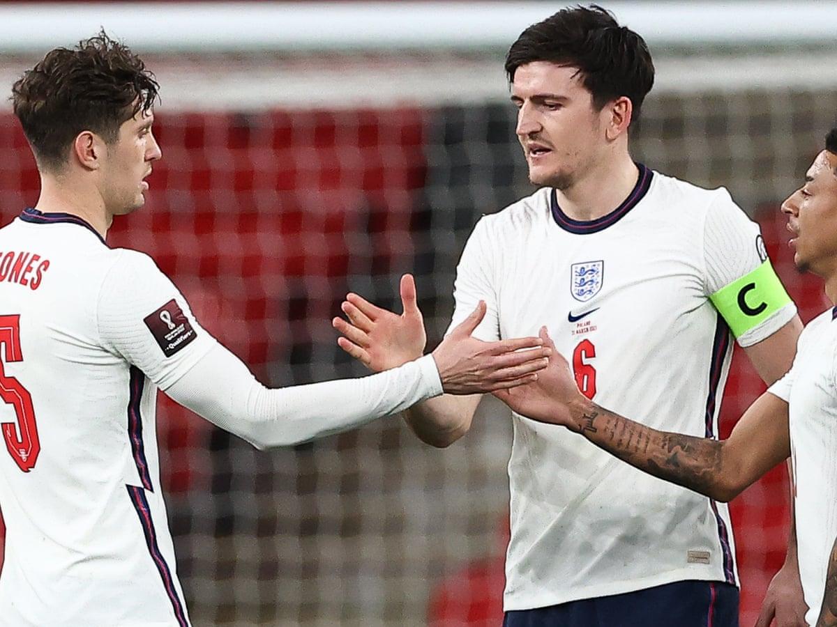 """John Stones"" แข้ง ทีมชาติอังกฤษ ที่แก้ตัวในเกมกับทีมชาติโปแลนด์"